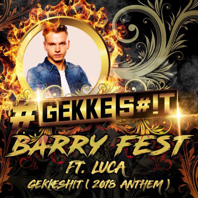 Barry Fest heeft voor z'n eigen feest concept een leuke track gemaakt. …